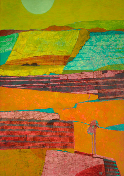 Bali – trip to the north (1998) | oil painting – 190x135cm – #79288