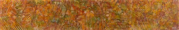 In the woods 1 (2003) | mixed media – 25x146cm – #79393