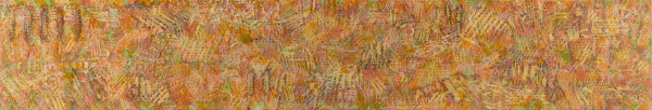 In the woods 3 (2003) | mixed media – 25x146cm – #79395
