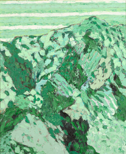 The Dunes, Vlieland (2002) | oil painting – 59x48cm – #79423