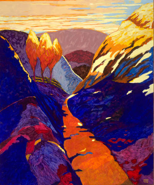 Valley of The Winds, Kata Tjuta, Australia (2006) | oil painting – 100x120cm – #79527