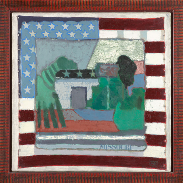 Missouri V – USA (1992) | mixed media – 60x60cm – #7968